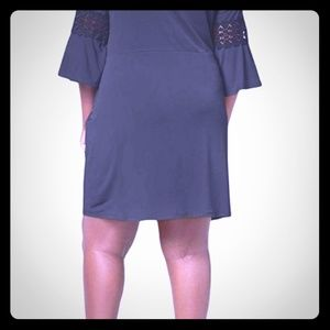 My Collection Navy Dress